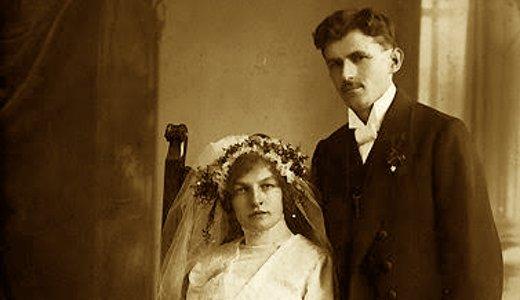 Sir Edmund Godfrey and Bride Loretta